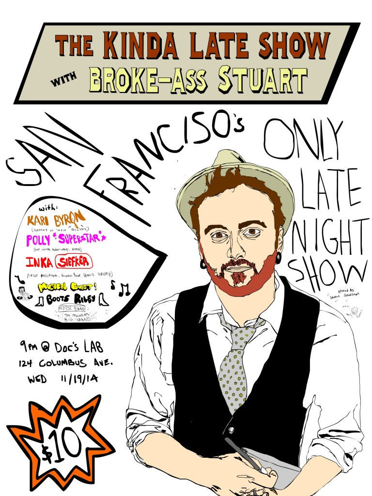 kinda late show with broke-ass stuart