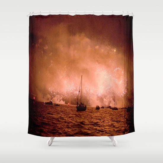 SF Based Rock Photographer Victoria Smith Designs A Line Of Goods Consisting Throw Pillows Clocks Duvet Covers And Shower Curtains