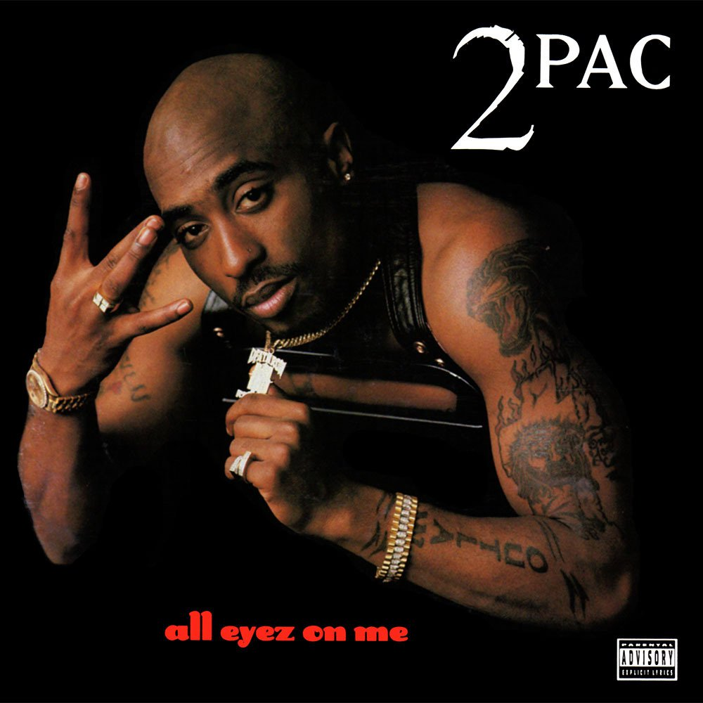 A seminal album from Tupac Shakur