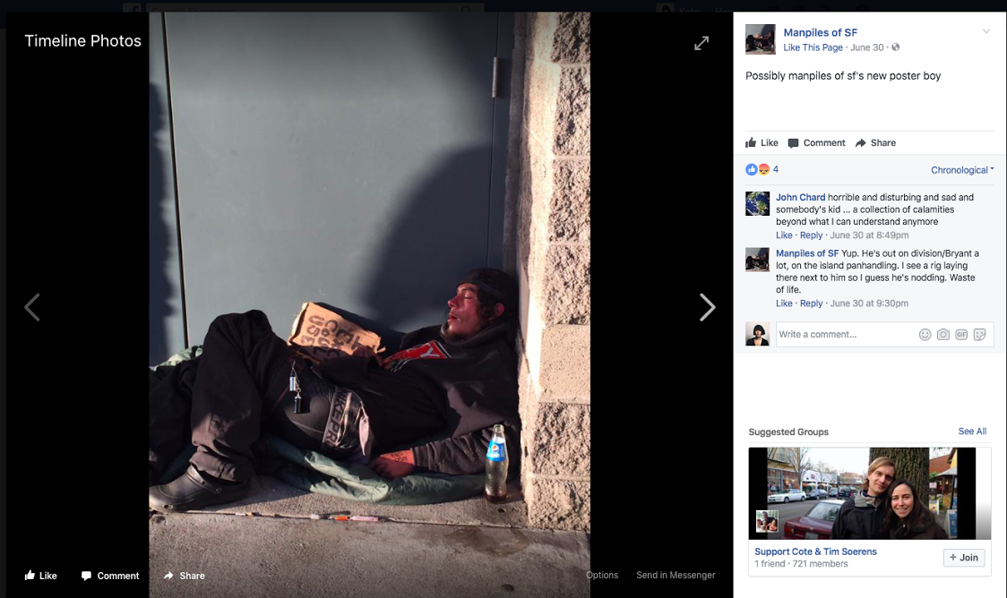 Nasty New FB Page Makes Fun of SF Homeless People - Broke