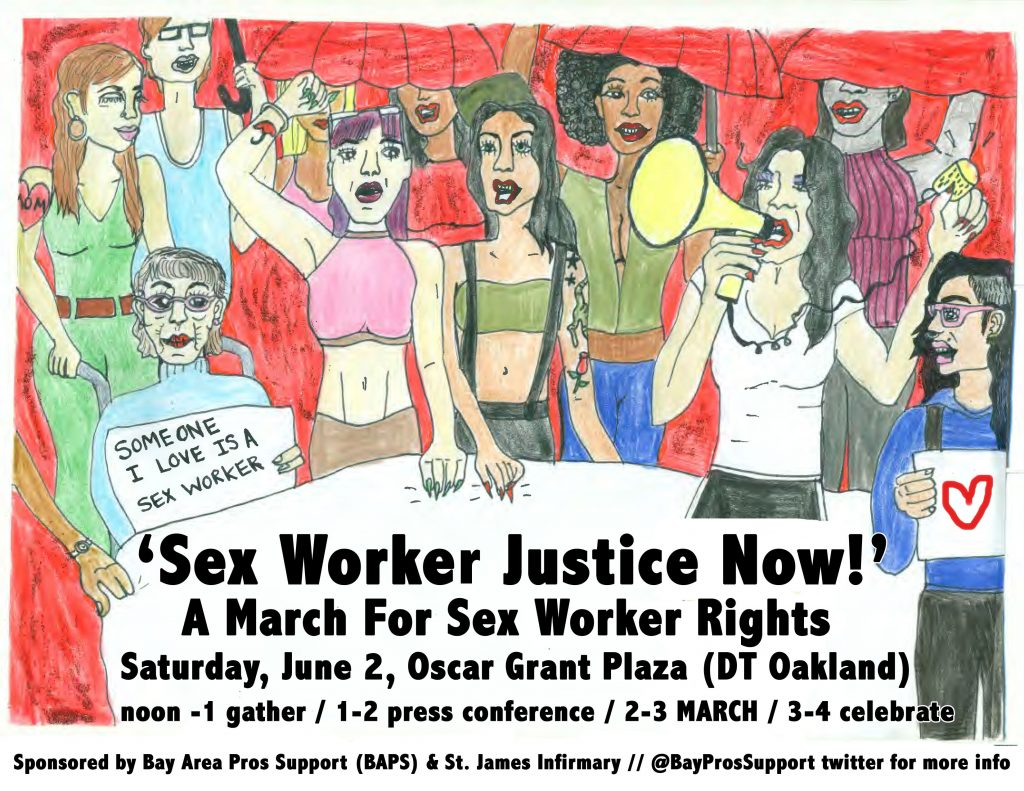 Bay area organized sex workers