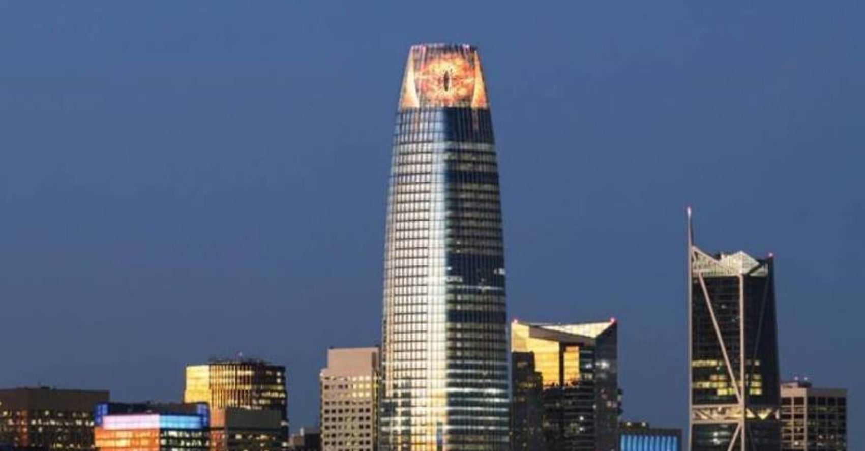 Salesforce: The Petition To Turn The Salesforce Tower Into The Eye Of